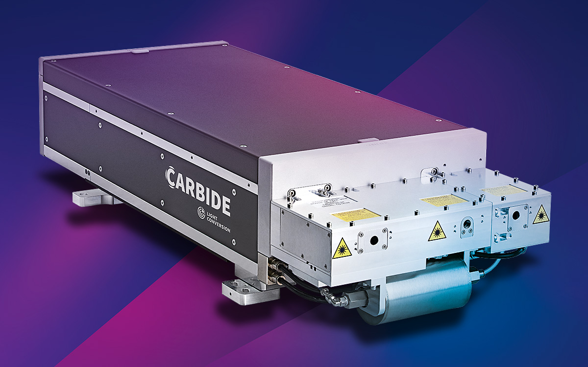 Increased Power and Energy from Light Conversion's Carbide Femtosecond Laser