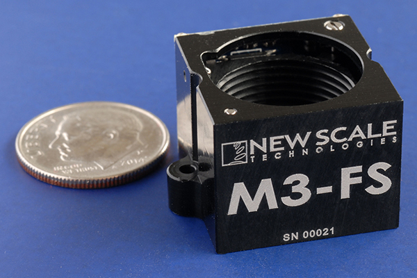 New Scale Technologies: M3-FS and M3-F Focus Modules