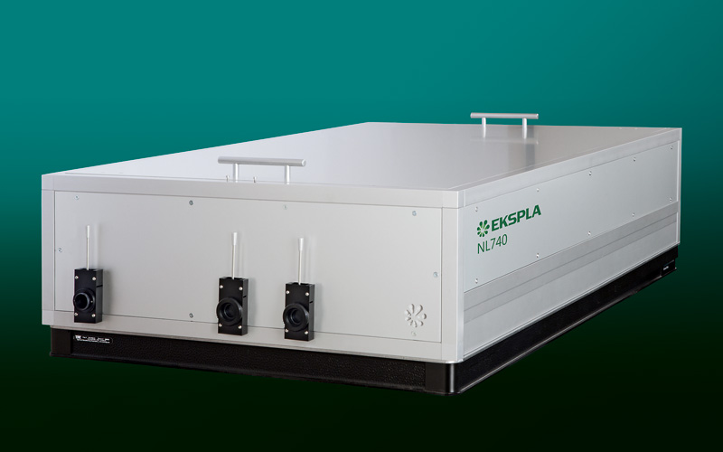 NL740 tunable pulse duration NdYAG lasers