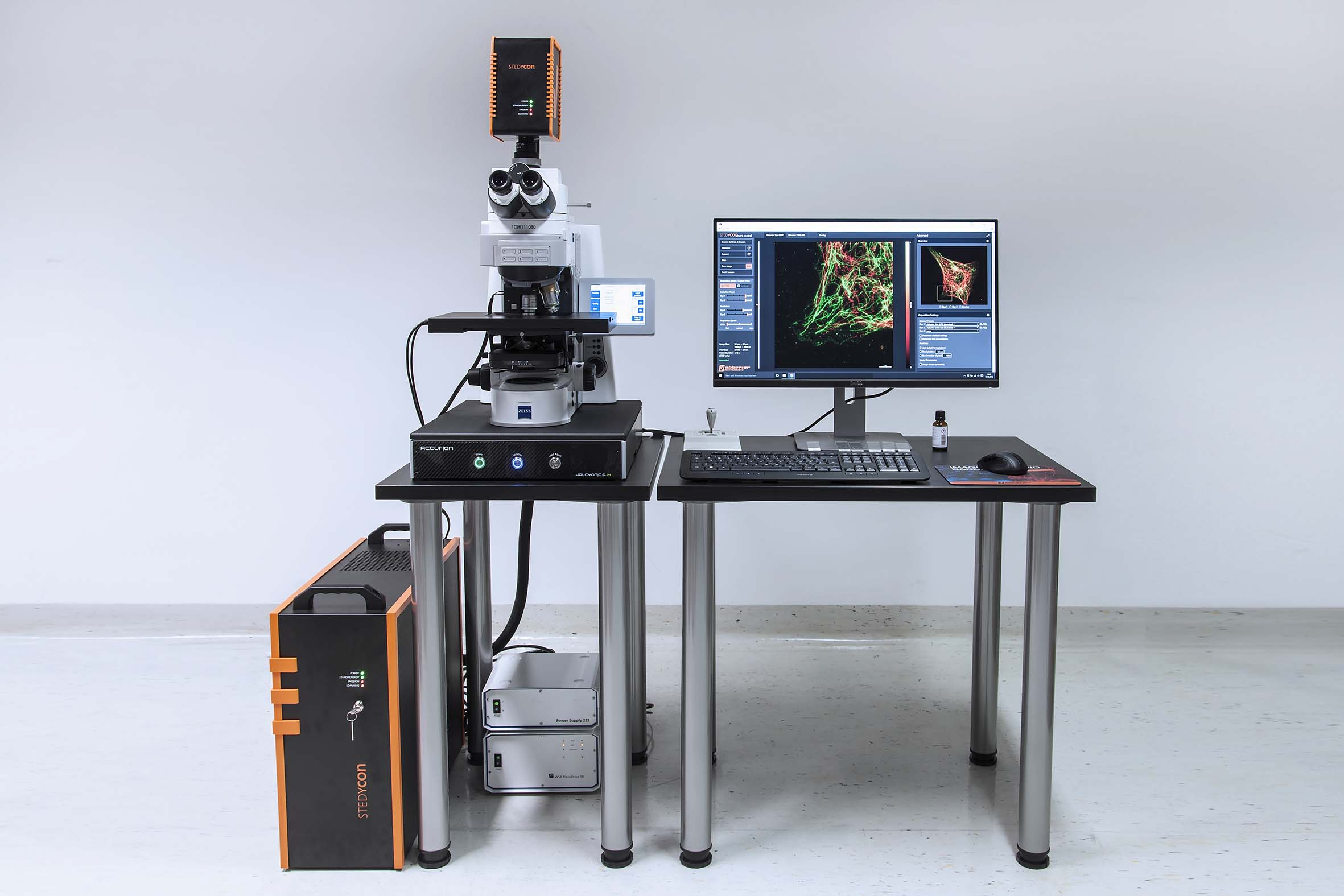 Abberior Instruments and Super Resolution Microscopy at Lastek