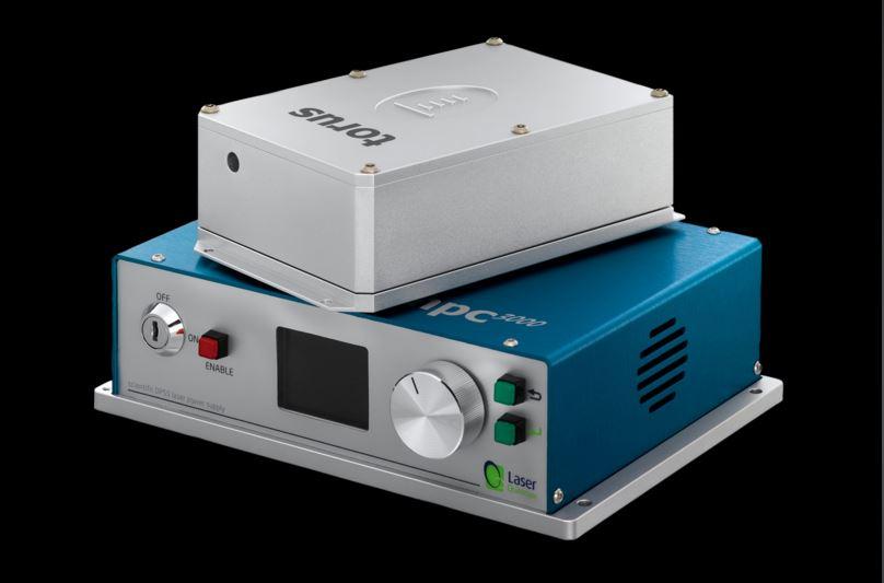 Laser Quantum torus